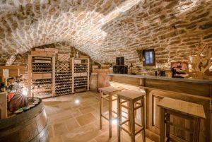 cave à vin en bois présentation