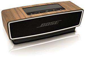 Balolo Couverture en bois pour la Bose SoundLink Mini II