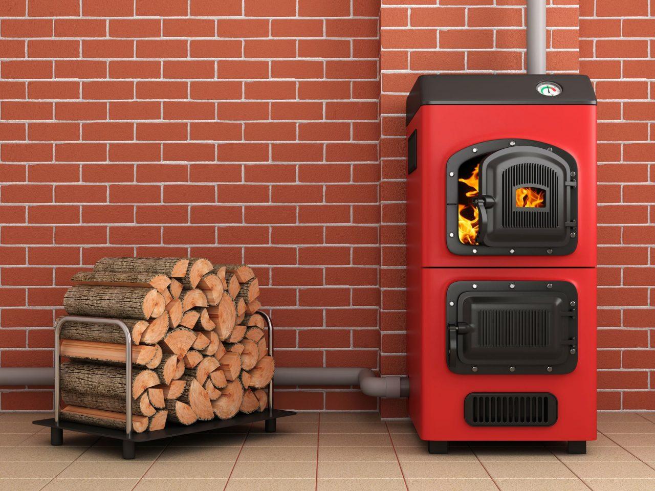 La chaudière à bois - image